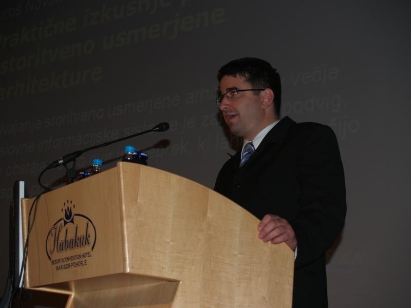 Predaval bo dr. Marjan Heričko, profesor na Fakulteti za elektrotehniko, računalništvo in informatiko.