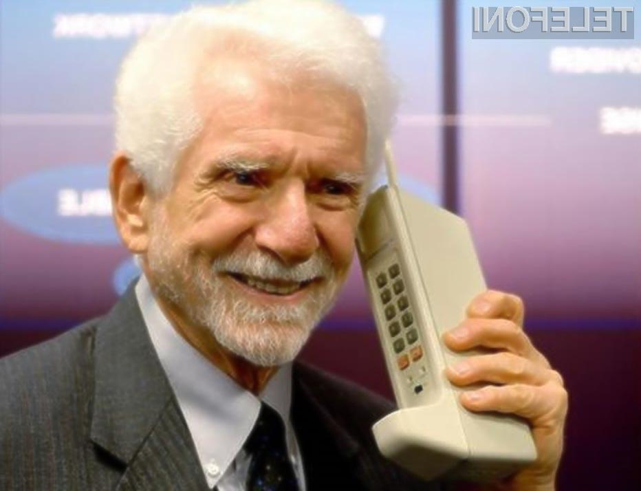 Prvi mobilni telefon je tehtal zavidljivih 800 gramov!