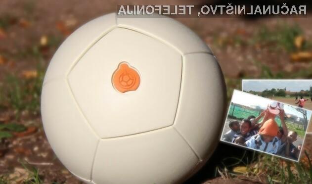 30 min igranja nogometa omogoča 3-urno delovanje LED svetilke.