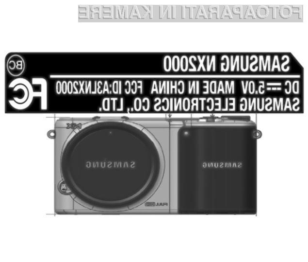 Pametni brezzrcalni digitalni fotoaparat Samsung NX2000 bo moč povsem prilagoditi našim potrebam in zahtevam!