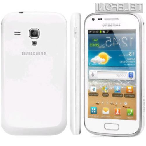 Android 4.1.2 Jelly Bean se odlično prilega mobilniku Samsung Galaxy Ace 2.