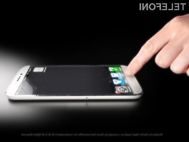 Bralnik prstnih odtisov bi zagotovo precej poenostavil uporabo pametnega mobilnega telefona iPhone.