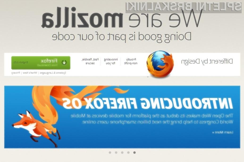 Prihodnost organizacije Mozilla je v celoti odvisna od milosti in nemilosti podjetja Google!
