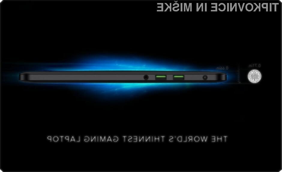Avtonomija igričarskega prenosnega računalnika Razer Blade je impresivna, saj znaša kar zavidljivih šest ur!
