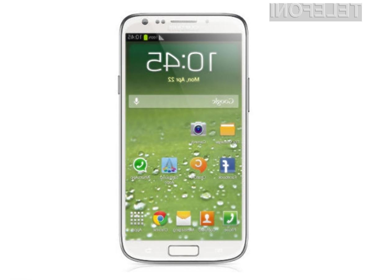 Mobilnik Samsung Galaxy S4 Active se bo lahko brez težav spopadal s prahom, vodo in padci!