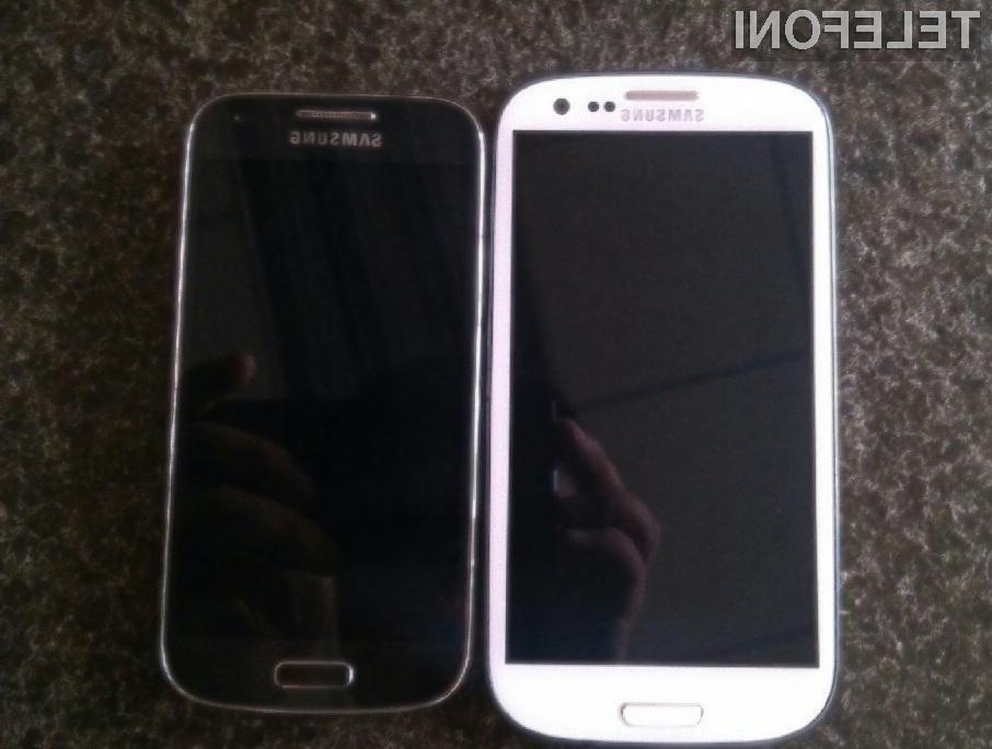 Samsung Galaxy S4 Mini bo v primerjavi s priljubljenim mobilnikom Galaxy S4 nekoliko manjši, šibkejši in cenovno dostopnejši.