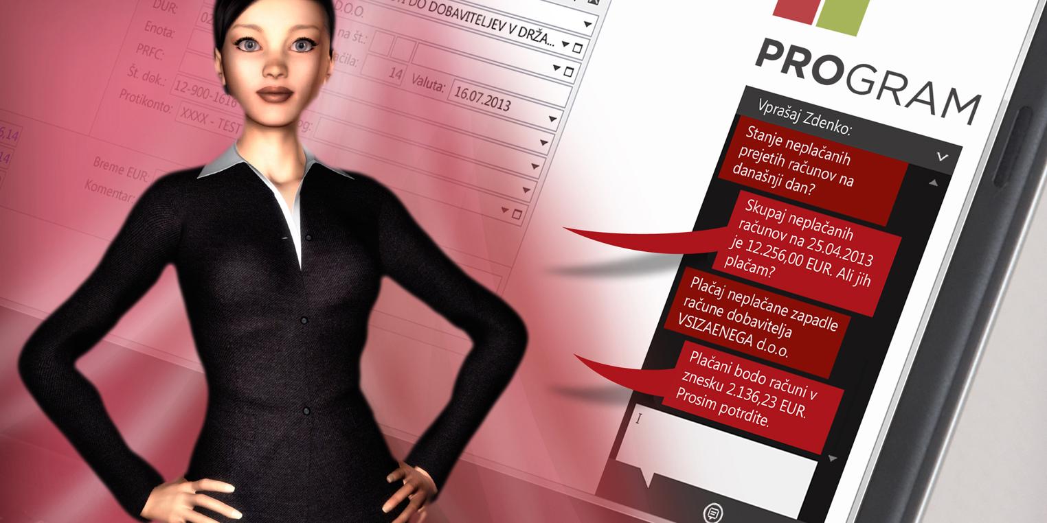 ProGRAM je odlična programsko-poslovna rešitev, ki za vas prevzame celotno breme računovodenja v vašem podjetju.