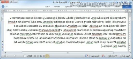 Besana za Word izboljša preverjanje slovnice.