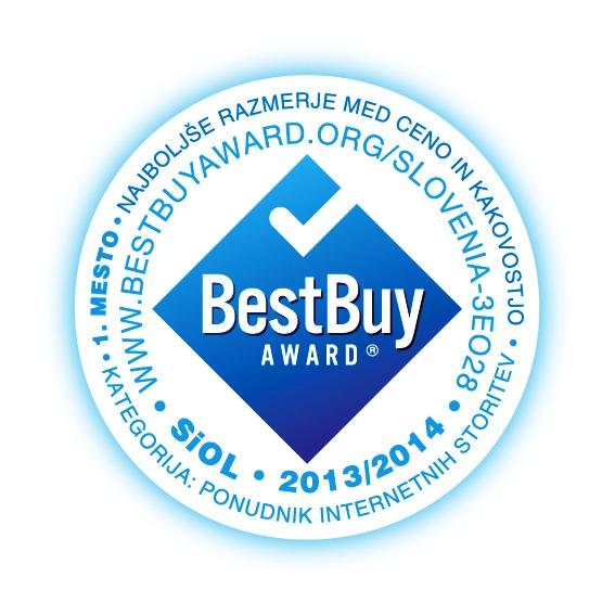 Telekom Slovenije je prejel dve priznanji Best Buy Award.