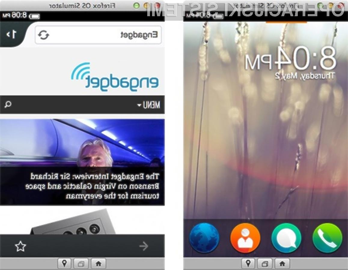 Mobilni operacijski sistem Mozilla Firefox OS v vsej svoji lepoti in uporabnosti!