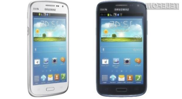 Samsung Galaxy Core nas kljub nekoliko šibkejši strojno opremi vsaj zlahka ne bo pustil na cedilu!