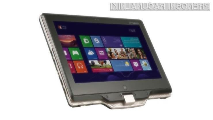 Ultrabook U2142 podjetja Gigabyte bomo zlahka prenašali naokrog, saj tehta zgolj 1,4 kilograma.