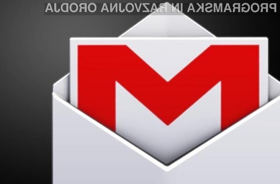 Vse novosti e-poštnega predala Gmail!
