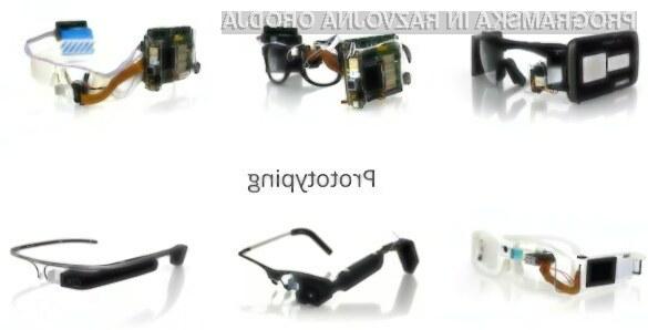V razvoj Googlovih večpredstavnostnih očal Glass je bilo vloženega veliko dela!
