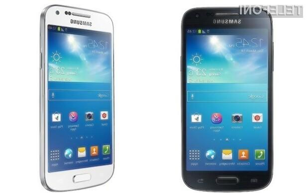 Kompaktni mobilnik Galaxy S4 Mini bo za okoli 110 evrov cenejši od zmogljivejšega brata!