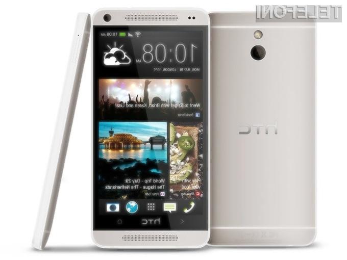 Pametni mobilni telefon HTC M4 bo ponujal veliko, a bo občutno cenejši od zmogljivejšega brata One.