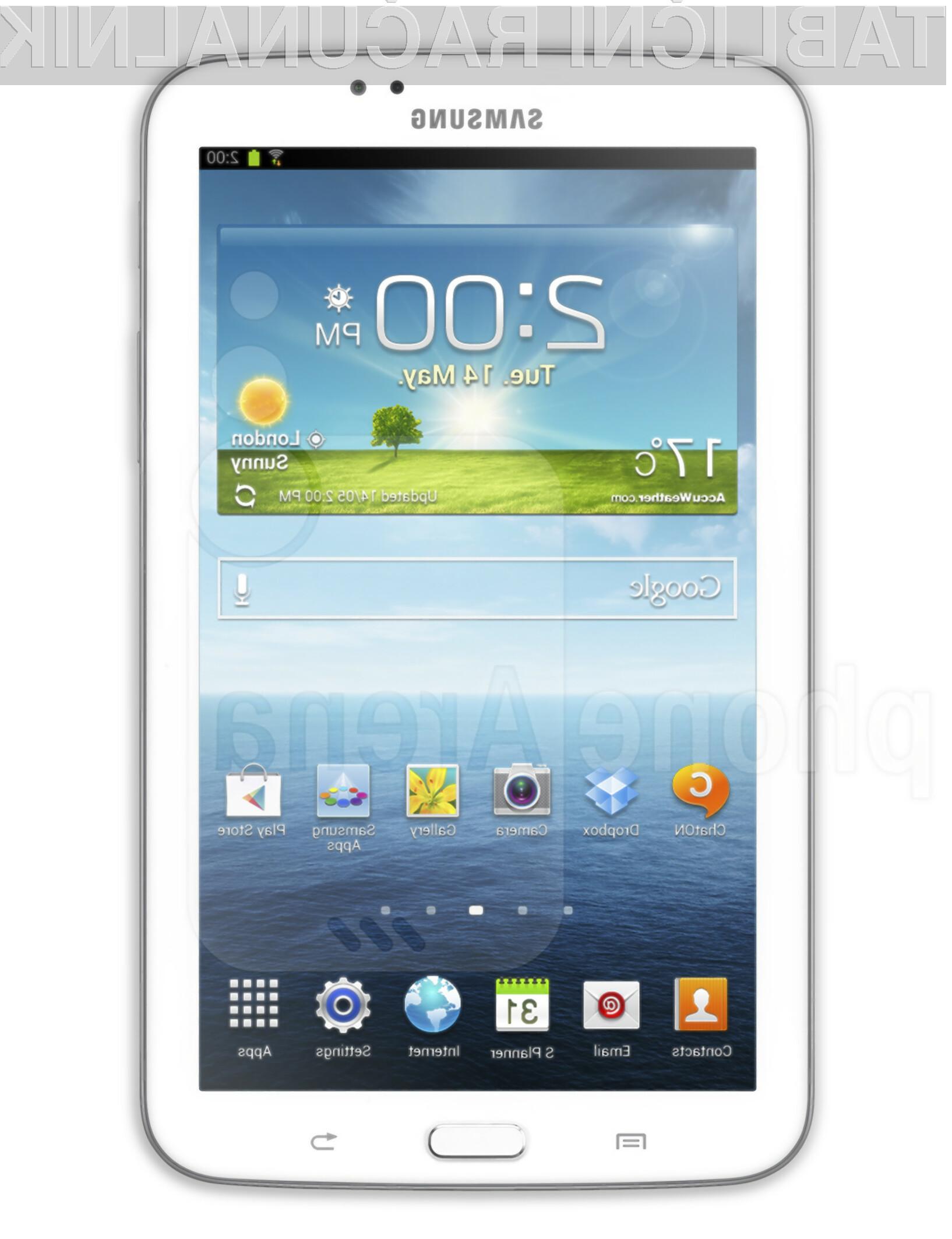 Tablica Galaxy Tab 3 8.0 bo pisana na kožo predvsem poslovnežem in zahtevnejšim uporabnikom.