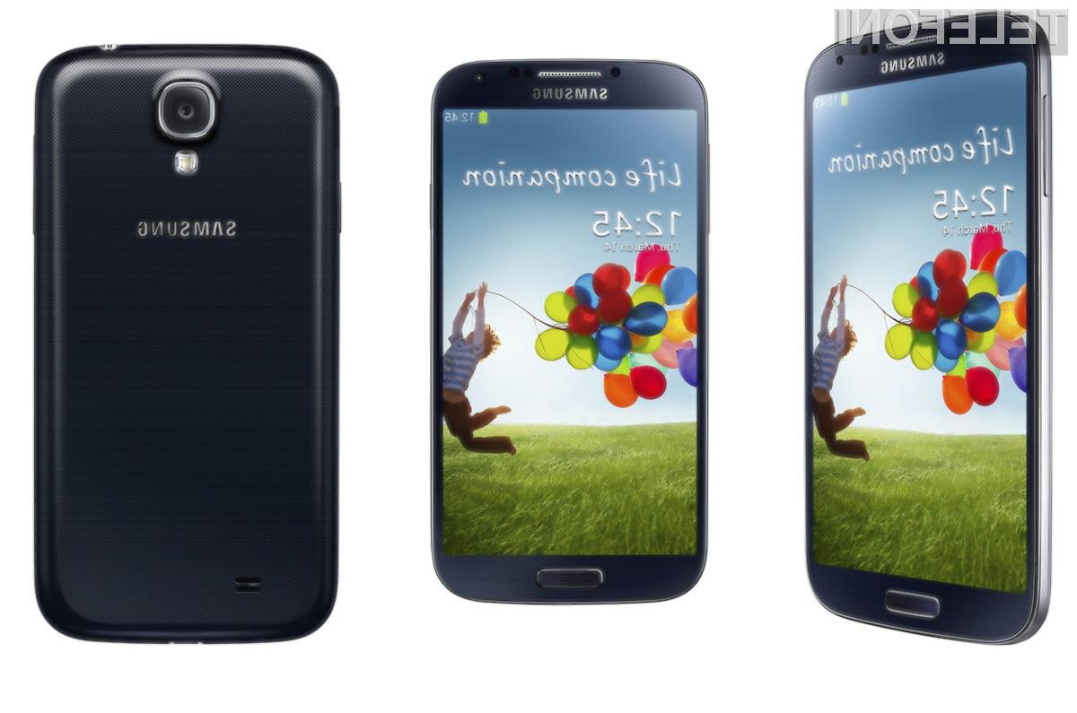 Samsung si lahko od mobilnika Galaxy S4 obeta bajne zaslužke!