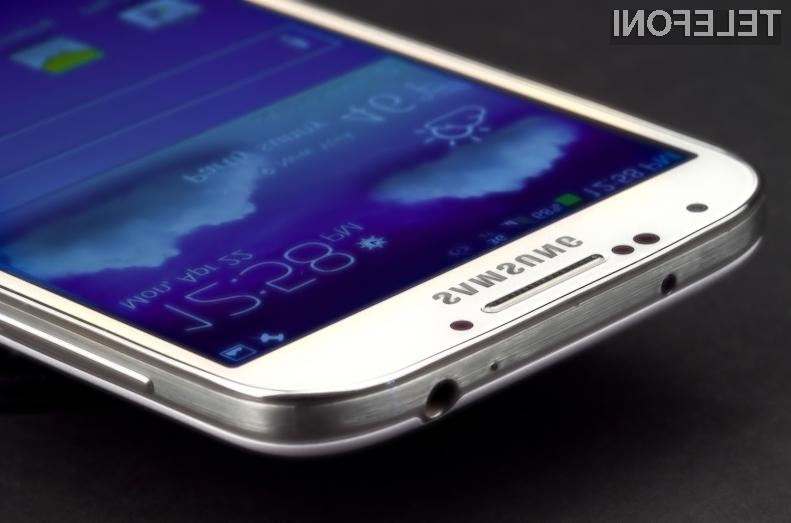 Pametni mobilni telefon Samsung Galaxy S4 je prepričal z izjemnim zaslonom in bogato paleto edinstvenih funkcij.