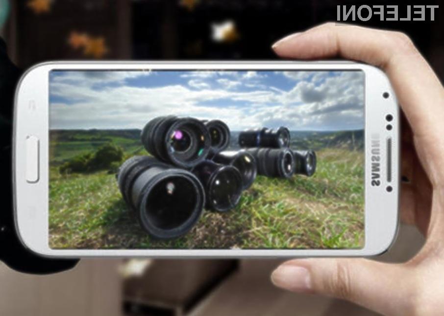 Fotografski mobilnik Samsung Galaxy S4 Zoom naj bi bil naprodaj že proti koncu poletja.