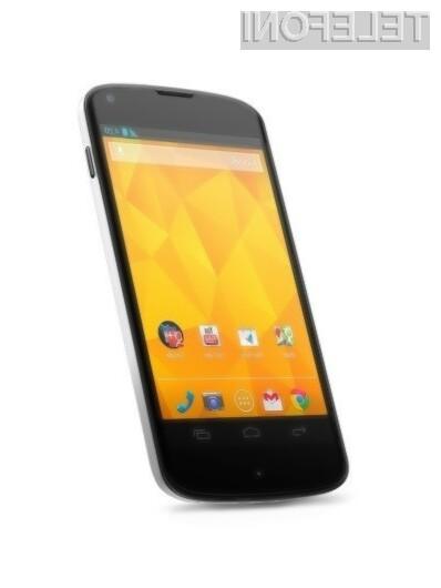 Android 4.3 Jelly Bean se odlično prilega Googlovemu mobilniku Nexus 4.