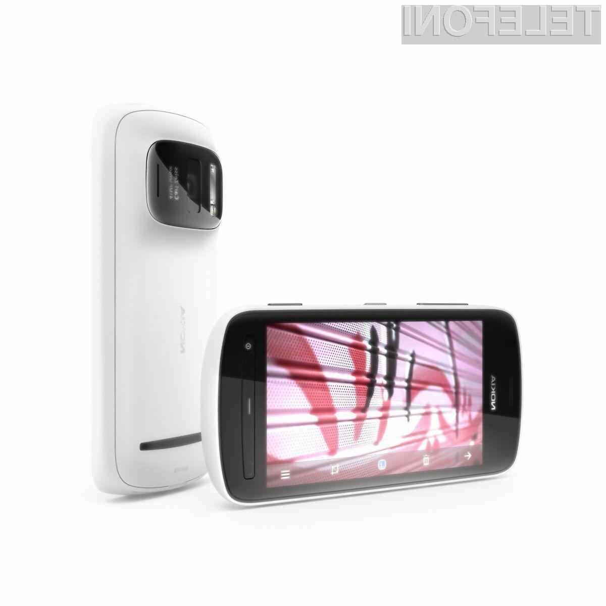 Mobilnik 808 PureView se lahko pohvali s kamero z 41 megapiksli.