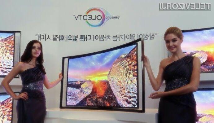 Samsungov izjemen televizor OLED si bodo zaradi visoke cene lahko privoščili le redki!