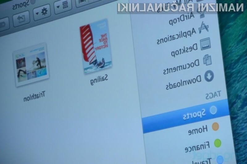 Operacijski sitem OS X Mavericks bo znatno izboljšal uporabnost računalnikov Apple!