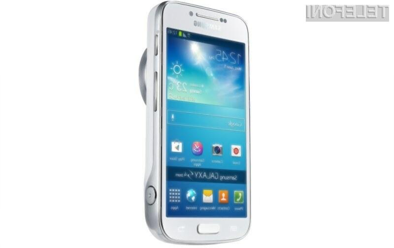 Fotografski Galaxy S4 Zoom je bogatejši še za povezavo 4G/LTE!