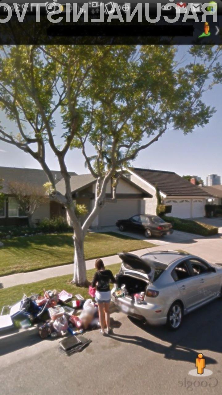 Na spletno storitev Google Street View zaidejo tudi posnetki, ki nas nasmejejo do solz!