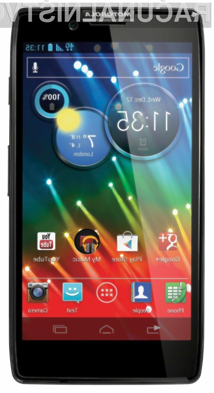 Mobilnik Motorola Razr HD je na vseh testih zasedel prvo mesto. (foto: amazon.co.uk)