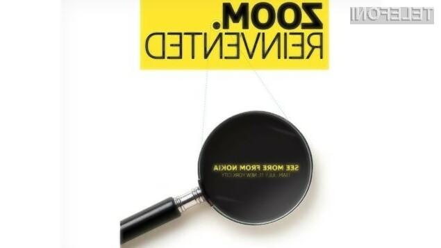 Fotografski pametni mobilni telefon Nokia ZOOM naj bi luč sveta ugledal že 11. julija!