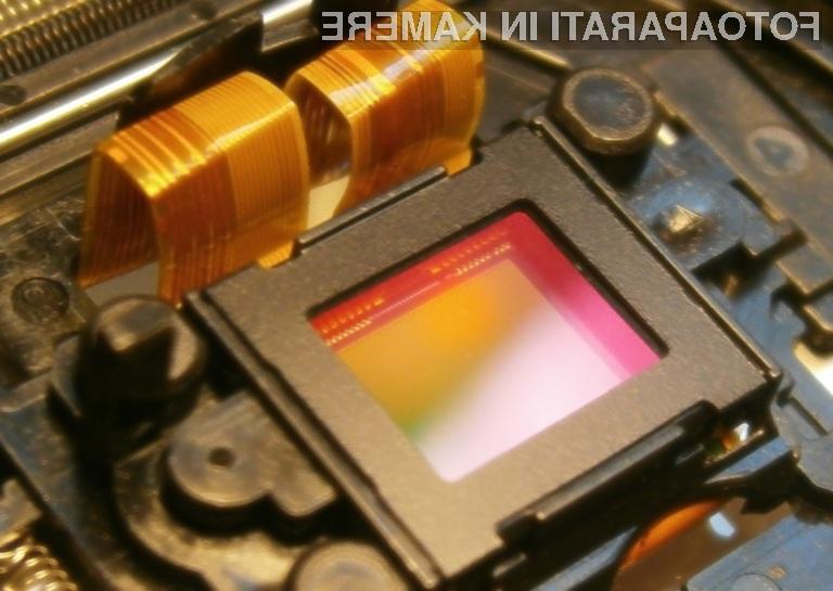 Organsko tipalo CMOS omogoča zajem izjemno kakovostnih fotografij!