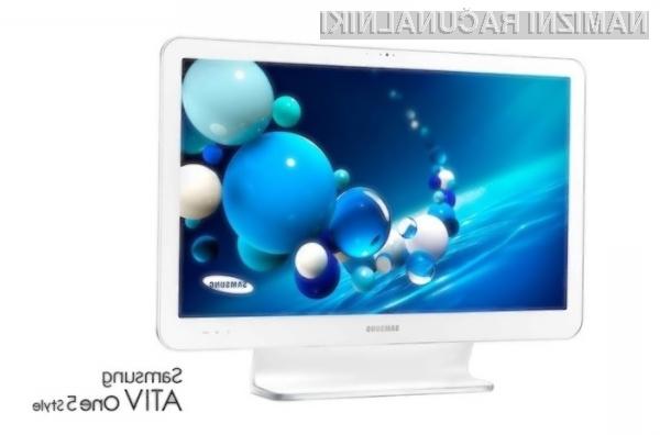 Samsung ATIV One 5 je kot nalašč tako za opravljanje zahtevnejših del kot za predvajanje večpredstavnostnih vsebin.