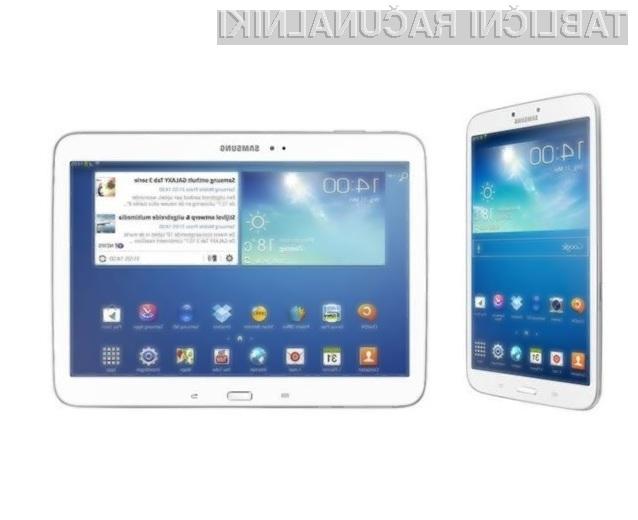Tablični računalniki Samsung Galaxy Tab 3 ponujajo odlično razmerje med zmogljivostjo in ceno!