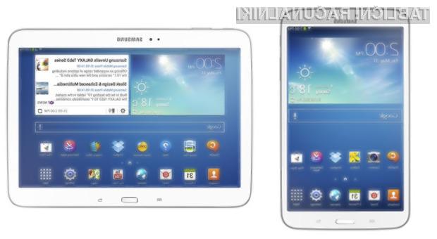 Podjetje Samsung je z novima tabličnima računalnikoma družine Galaxy Tab 3 zadelo v polno!