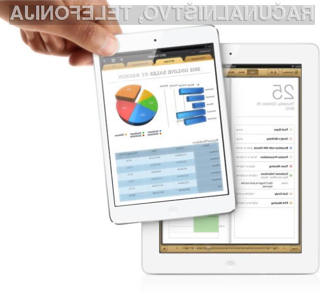 Tablice iPad se lahko pohvalijo z izjemno dobro avtonomijo. (foto: apple.com)
