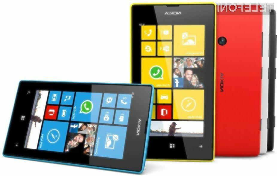 Podjetje Nokia kraljuje na trgu mobilnih naprav, ki poganjajo mobilni operacijski sistem Windows Phone!