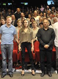 Angelina Jolie na Talent Campusu lanskega Sarajevo Film Festivala