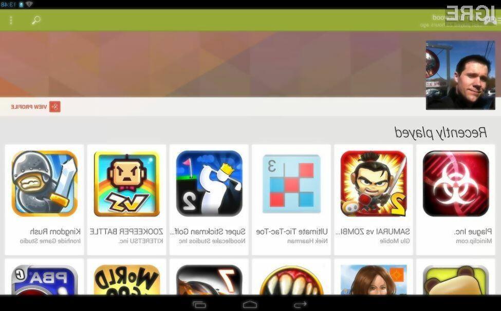 Spletna storitev Google Play Games ponuja povsem novo izkušnjo igranja iger na mobilnih napravah Android!