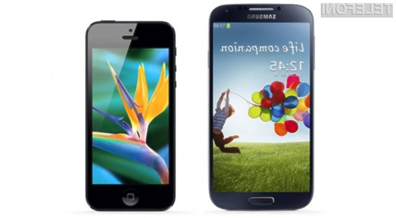 Ameriški ponudniki storitev mobilne telefonije imajo pri prodaji mobilnikov Samsung občutno več stroškov kot s prodajo mobilnikov iPhone.