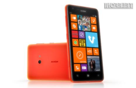 Gigantski mobilnik Nokia Lumia 625 navdušuje v vseh pogledih!