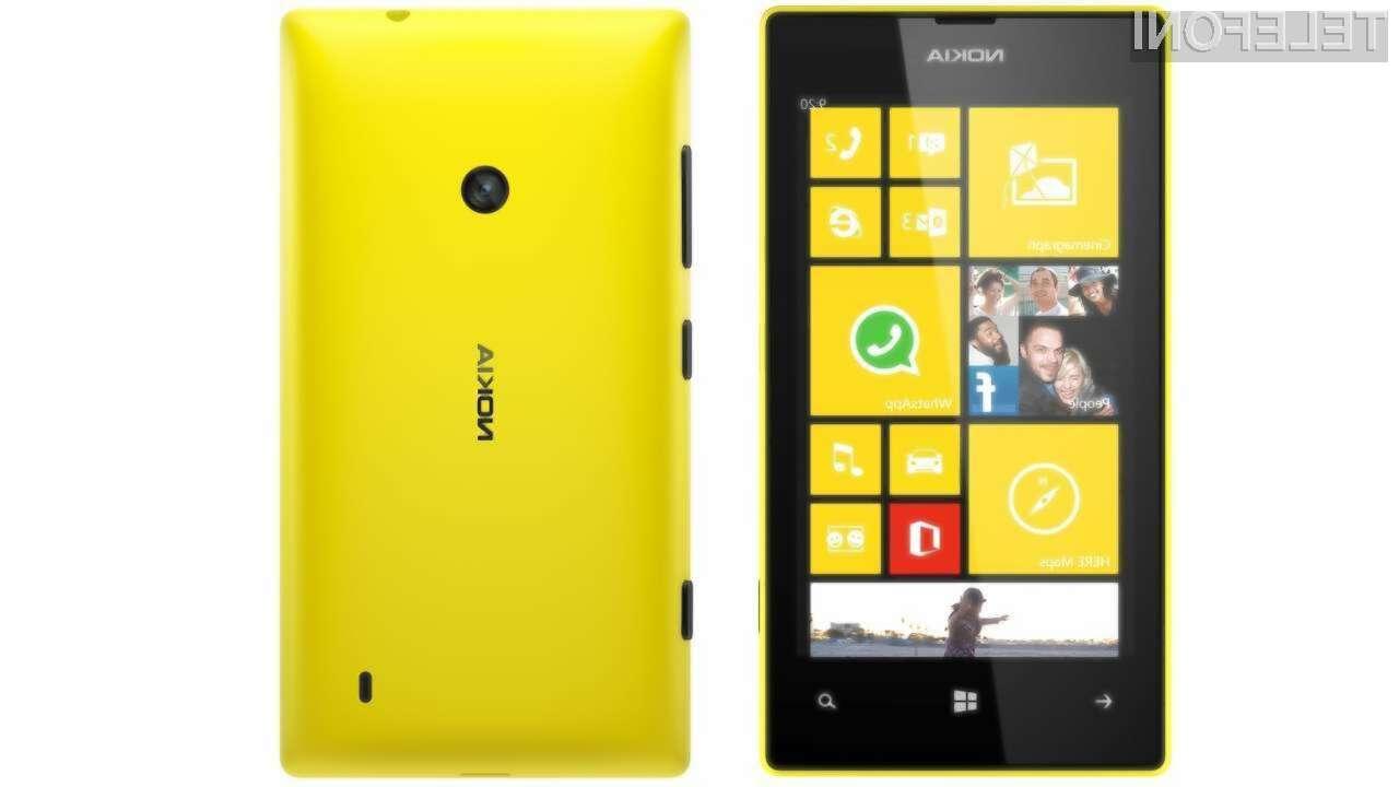 Najcenejši pametni mobilni telefon Windows Phone bo pri nas naprodaj še pred koncem poletja!