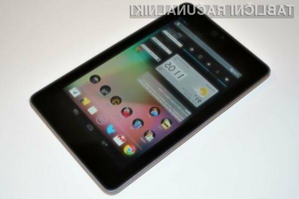 Novi Google Nexus 7 bo v ZDA naprodaj že konec julija!