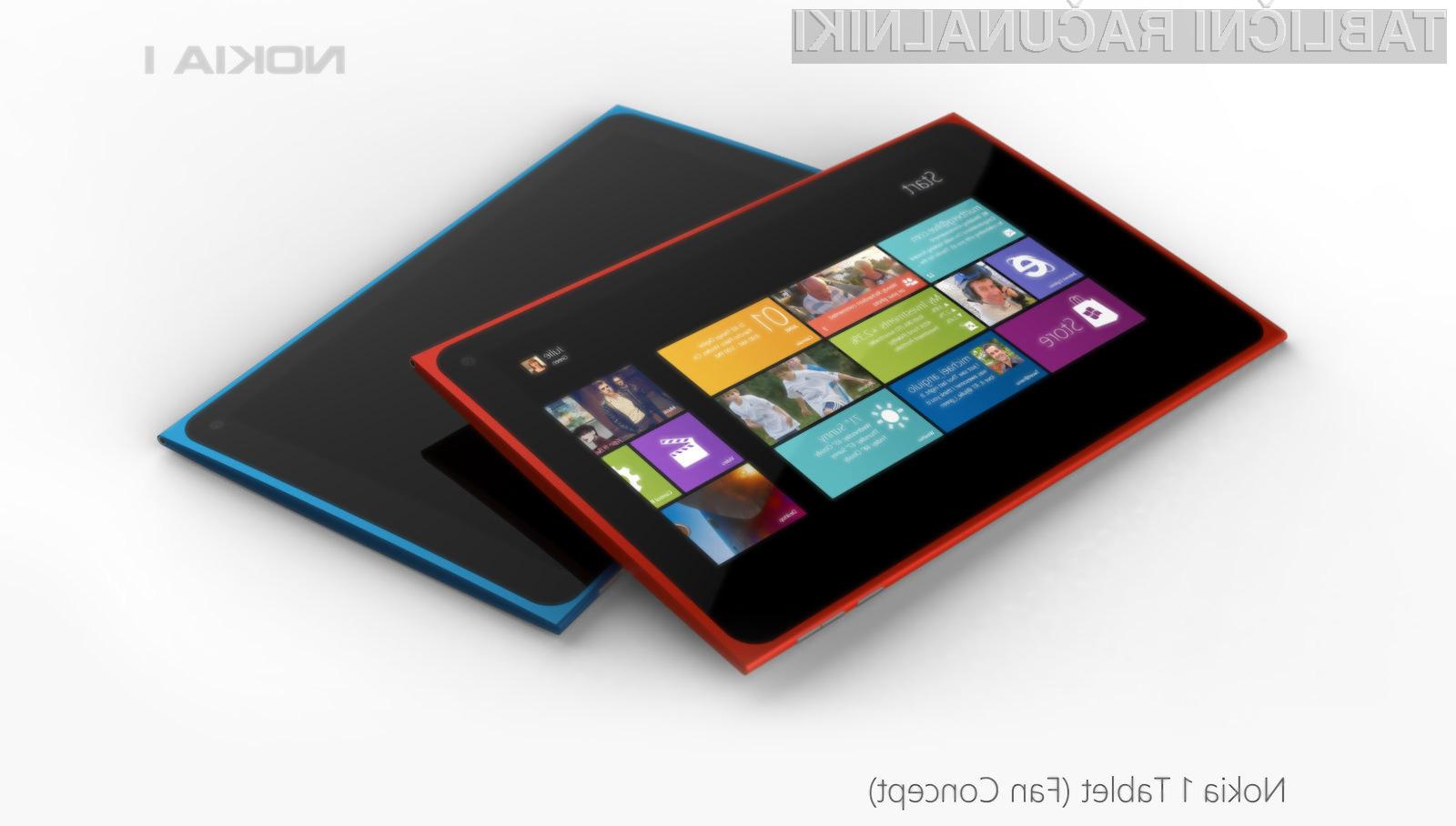 Prvi tablični računalnik Nokia Lumia naj bi bil opremljen s sila nepriljubljenim operacijskim sistemom.