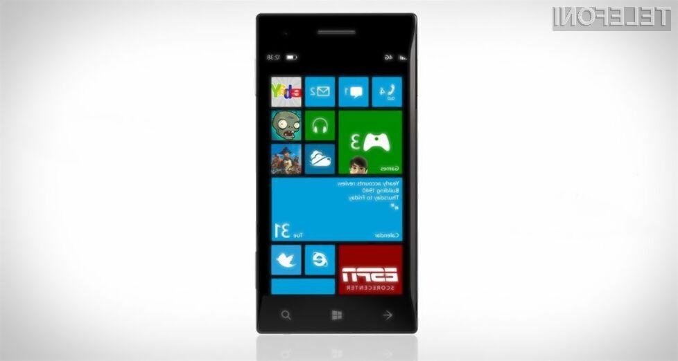 Microsoftovi programerji naj bi ranljivost v mobilnem operacijskem sistemu Windows Phone odpravili še pred poletjem!