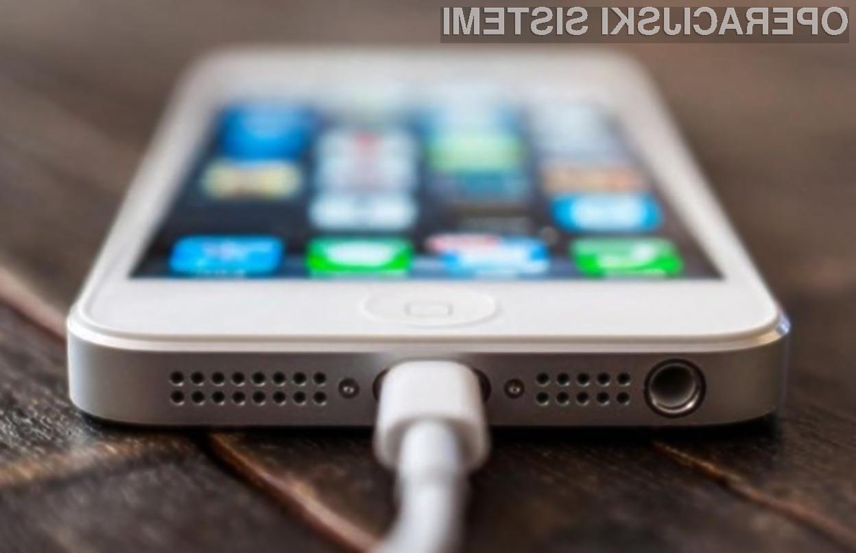 Z nakupom neoriginalnega napajalnika lahko celo okužimo našo Applovo mobilno napravo.