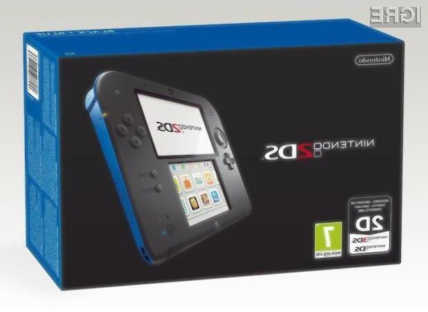 Poceni prenosna igralna konzola Nintendo 2DS je združljiva tako z igrami za konzolo 3DS kot DS.