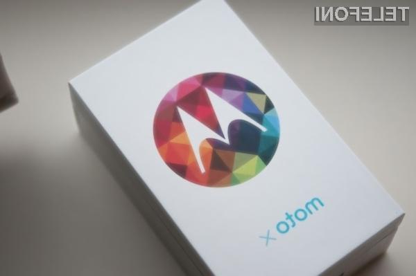 Novi pametni mobilni telefon Motorola Moto X naj bi ponujal uporabniško izkušnjo mobilnikov Google Nexus.