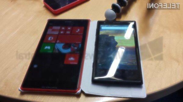 Nokia Lumia 1520 bo odgovor finskega giganta na povpraševanje uporabnikov po mobilnikih z gigantskimi zasloni.